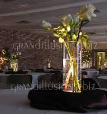 lighted centerpieces for wedding reception lighted wedding decorations crystal led lighted tree wedding