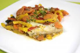 cuisiner du merlu recette dos de merlu et ses légumes