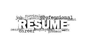 the word resume resume word cloud picture for powerpoint slidemodel