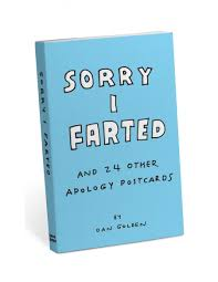 sorry i and 24 other apology postcards knock knock