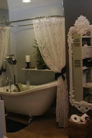 White Lace Shower Curtain With Valance best 25 vintage shower curtains ideas on pinterest neutral