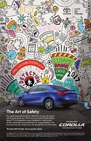 car ads 2017 toyota corolla 2017 ads 2nd mural u2014 hyesu lee