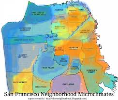 Map Of Greater San Francisco Area by San Francisco Fog Map Michigan Map
