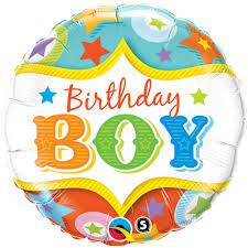 birthday boy birthday boy circus foil balloon free delivery