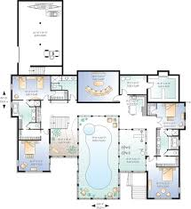 Hacienda Floor Plans And Pictures by Beach Style House Plan 7 Beds 6 5 Baths 9028 Sq Ft Plan 23 853
