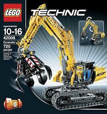 amazon com lego technic 42006 excavator toys u0026 games