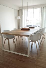 White Wood Dining Table Dining Room Top White Oak Table Throughout And Wood Chairs Designs