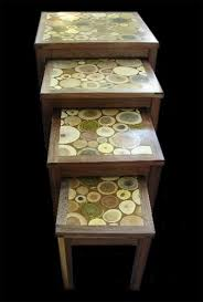 tree ring coffee table 21 best coffee side table images on pinterest coffee tables