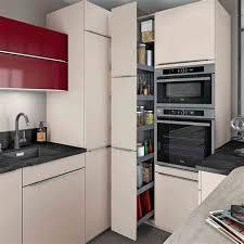 cuisine four encastrable wonderful dimension meuble four encastrable 5 am233nager lespace