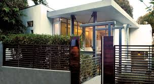 Modern Fence Contemporary House Plan Modern Newest Fence Design Plans Ideas Kb
