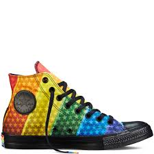 Converse American Flag Shoes Where To Buy The Converse Pride Collection Just In Time For Lgbt