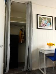 Standard Patio Door Size Curtains by Closets With Curtains For Doors Centerfordemocracy Org