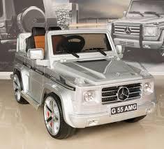mercedes g55 ride on silver mercedes g55 amg 12v ride on battery power wheels car