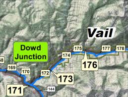 I 70 Colorado Map by Breaking Eastbound I 70 Over Vail Pass Open Vail No Longer On