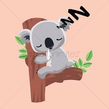 koala bear clipart tree drawing pencil and in color koala bear