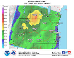 Map Of Southeastern Wisconsin by March 16 2016 Wind Event Reports For Southern Wisconsin