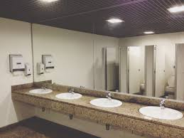 public bathroom design when can a child use a public restroom by himself