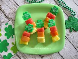 thanksgiving day snacks creative food simple st patrick u0027s day fruit snacks