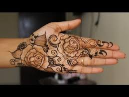 full hand navratri special rose henna design learn bridal