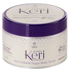 buy anti cellulite sugar body scrub 225 g by alpha keri online