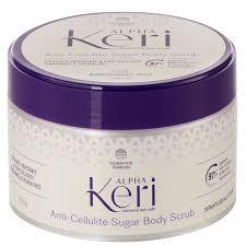 buy anti cellulite sugar body scrub 225 g by alpha keri online