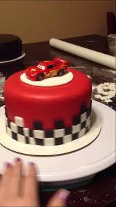 lightning mcqueen cakes tier ii lightning mcqueen cake