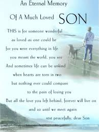 Quotes About Love For Your Son by 21 Quotes On Loss Of Son That Will Touch Your Heart Enkiquotes