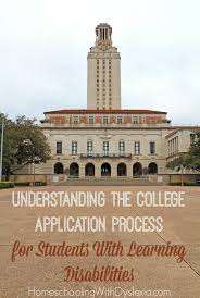 understanding the college application process for students with