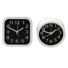 simple style round square child desktop clock bedroom alarm clock