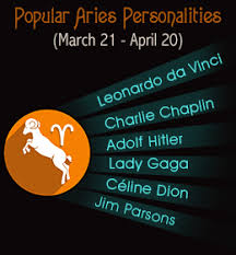 popular people with aries zodiac sign