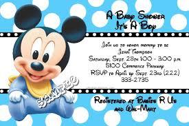 mickey mouse baby shower invitations mickey mouse baby shower invitations best invitations card ideas