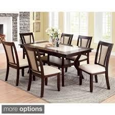 Furniture Of Kitchen Furniture Of America Redora Contemporary Espresso Dining Table