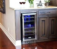 under cabinet wine cooler under cabinet wine cooler gallery series for built amazon