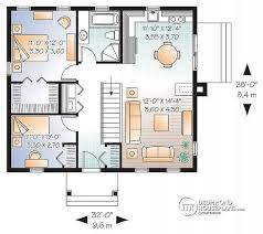 Large Bungalow Floor Plans House Plan W3120 Detail From Drummondhouseplans Com