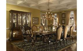 Michael Amini Dining Room Set Aico Michael Amini Palace Gates Rectangular Trestle Dining Table