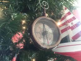 wholesale antique copper rms titanic white pocket compass