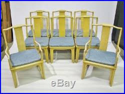 baker dining room chairs set of 8 baker furniture far east collection dining room chairs