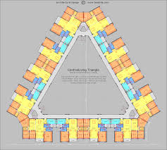 design apartment layout centralliving triangle floor plan haydar arslan pinterest