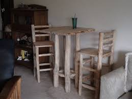rustic pub table and chairs by superdave02 lumberjocks com