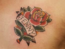 jenny rose tattoo name tattoos