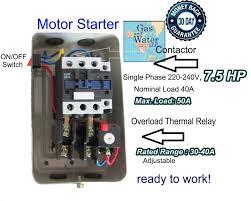magnetic starter switch ebay