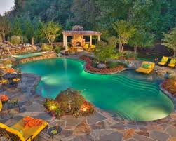 attractive swimming pool backyard designs home design