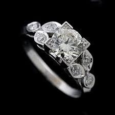 engagement rings flower design white gold flower design engagement ring setting orospot