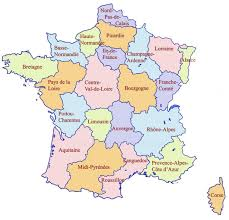 Alsace Lorraine Map France State Map France States Map Western Europe Europe