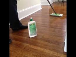 how to use shine on hardwood floors