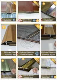 Metal Transition Strips Flooring by Wear Resisting Flexible Transition Strips Aluminium Transition