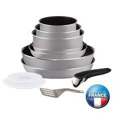 ustensile de cuisine tefal tefal ingenio essential batterie de cuisine 11 pièces l2149202 16 18