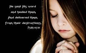 word heals prayers promises