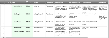 team progress report template project status report checklist creating your weekly report