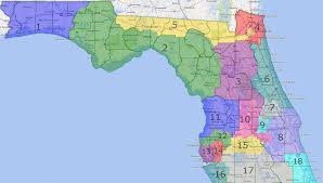 Florida Political Map by Les Neuhaus Saintpetersblog